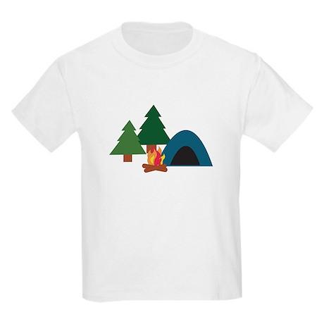 Camp Site Kids Light T-Shirt