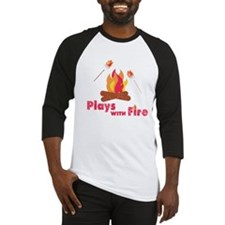 Plays with Fire Baseball Jersey