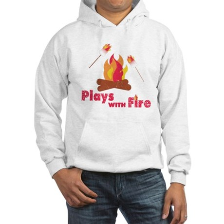 Plays with Fire Hooded Sweatshirt