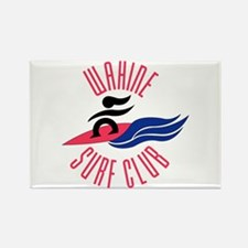Wahine Surf Club Rectangle Magnet