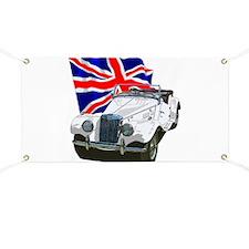 Cute Car racing Banner