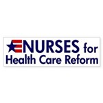 Nurses for Healthcare Reform bumper sticker