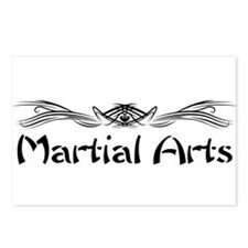 Martial Arts Postcards (Package of 8)