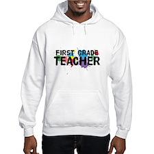 First Grade Teacher Hoodie