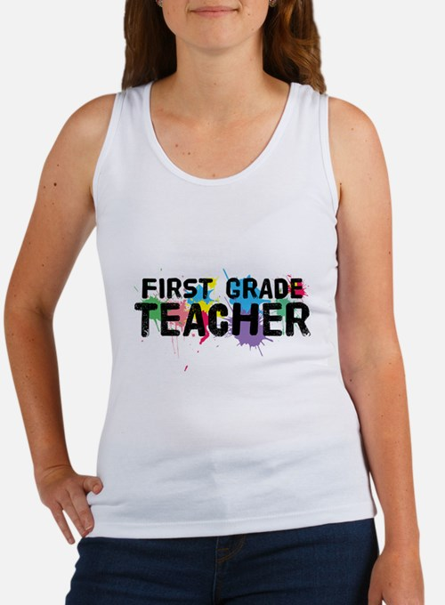 First Grade Teacher Women's Tank Top