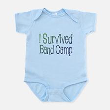 I Survived Band Camp Infant Bodysuit