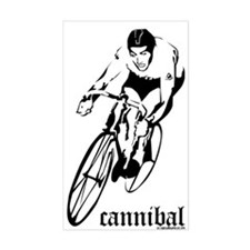 cannibal Rectangle Bumper Stickers