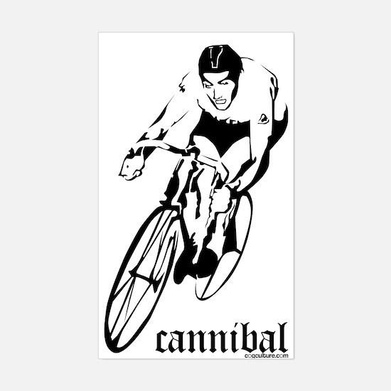 cannibal Rectangle Decal