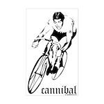 cannibal Rectangle Sticker