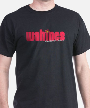 Wahines Make Better Surfers Black T-Shirt