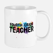 Fourth Grade Teacher Mug