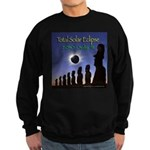 2010 Total Solar Eclipse 2 - Sweatshirt (dark)