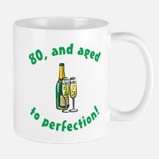 80, Aged To Perfection Mug