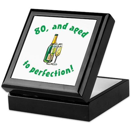 80, Aged To Perfection Keepsake Box