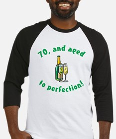 70, Aged To Perfection Baseball Jersey