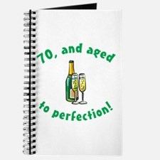 70, Aged To Perfection Journal