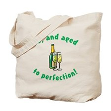 50, Aged To Perfection Tote Bag