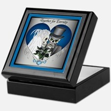 Wedding Skulls Keepsake Box