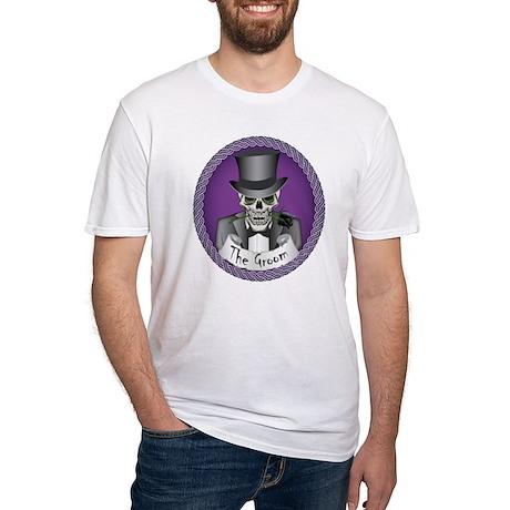 Wedding Skulls Fitted T-Shirt