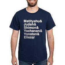 Maccabee Names T-Shirt