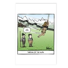 Tarzan of the Alps Postcards (Package of 8)