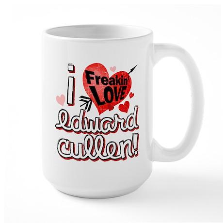 I LOVE Edward Cullen Large Mug