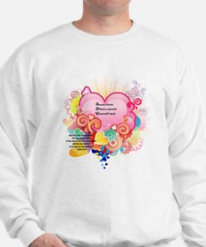 Joy - 1 John 3 23 Sweatshirt