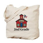 2nd Grade School Tote Bag