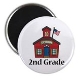 2nd Grade School Magnet