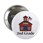 "2nd Grade School 2.25"" Button (10 pack)"