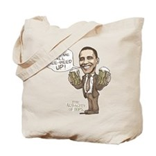 Wee Weed Obama Beer Tote Bag