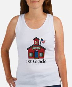 1st Grade School Women's Tank Top