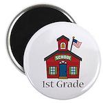 1st Grade School Magnet