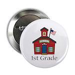 """1st Grade School 2.25"""" Button (10 pack)"""