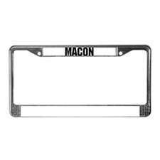 Macon, Georgia License Plate Frame