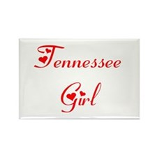 Tennessee Girl Rectangle Magnet