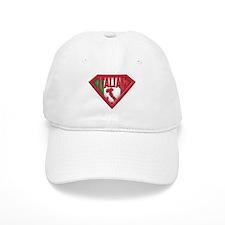 Italian superman Baseball Cap