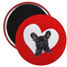 Black Frenchie Lover Magnet