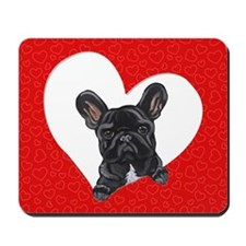 Black Frenchie Lover Mousepad
