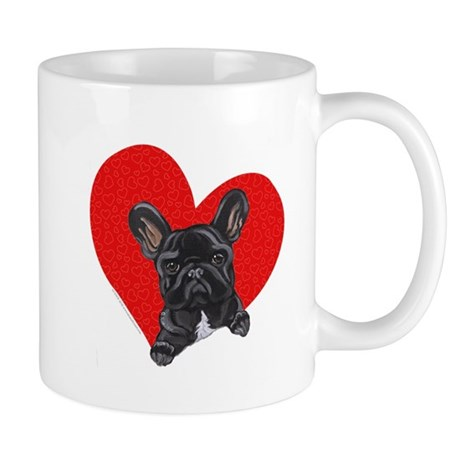 Black Frenchie Lover Mug