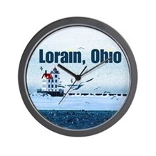 The Lorain, Ohio Wall Clock