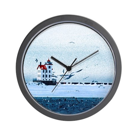 The Lorain, Ohio Lighthouse Wall Clock