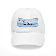 Coast guard boat Baseball Cap