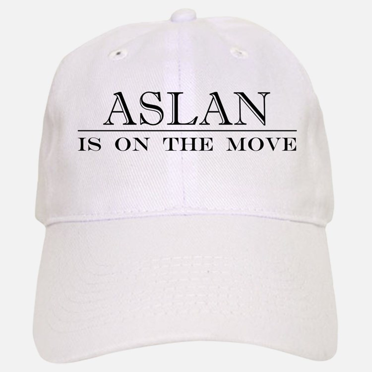Aslan Is On The Move Baseball Baseball Cap