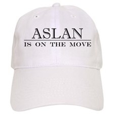 Aslan Is On The Move Baseball Cap