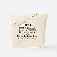 Jacob Black Twilight funny Tote Bag