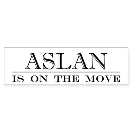 Aslan Bumper Sticker