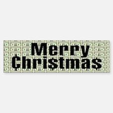 MERRY CHRI$TMA$ Bumper Bumper Bumper Sticker