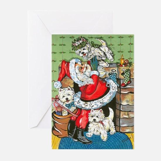 Santa's Little Helpers Greeting Cards (Pk of 20)