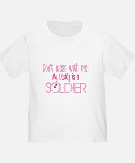 Don't mess with me - pink T